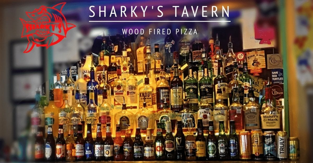 Sharkys Tavern Bar Selection